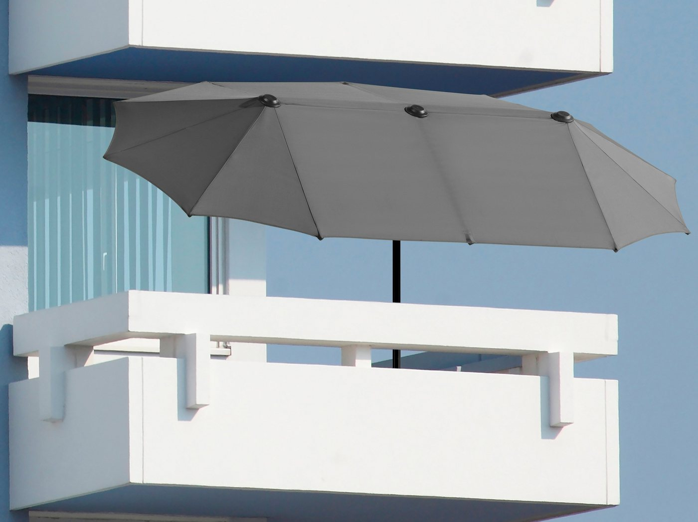 Schneider Schirme SCHNEIDER SCHIRME Sonnenschirm Salerno 300x150 Cm Inkl Schutzhulle