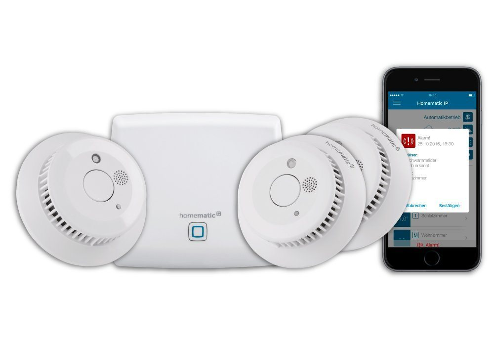 Homematic IP Smart Home »Starter Set Rauchwarnmelder (150788A0)«