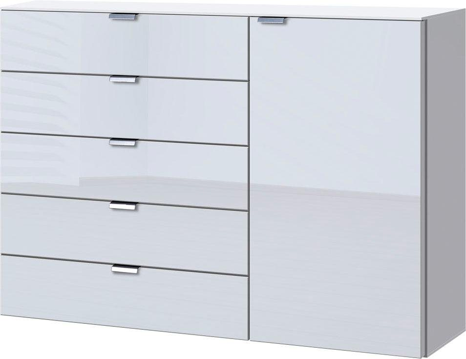 Kommoden, Sideboards und Schminktische - set one by Musterring Kommode »dayton« mit Glasfront, Breite 130 cm  - Onlineshop OTTO