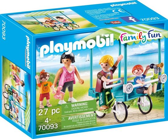 Playmobil® Konstruktions-Spielset »Familien-Fahrrad, »Family Fun««