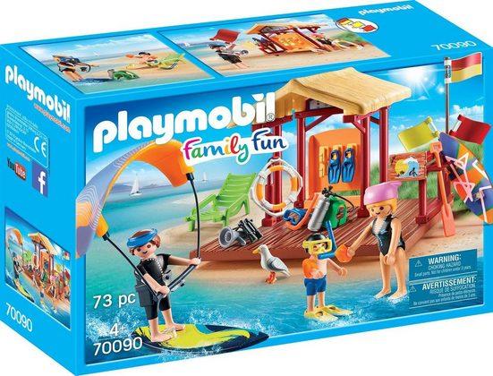 Playmobil® Konstruktions-Spielset »Wassersport-Schule, »Family Fun««, Made in Germany