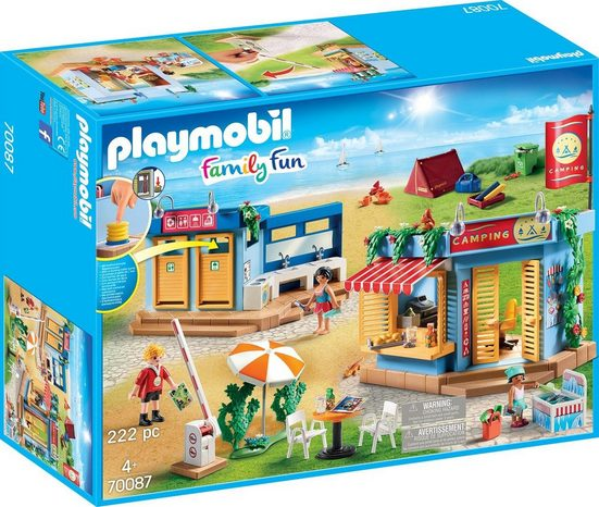Playmobil® Konstruktions-Spielset »Großer Campingplatz, »Family Fun««, Made in Germany
