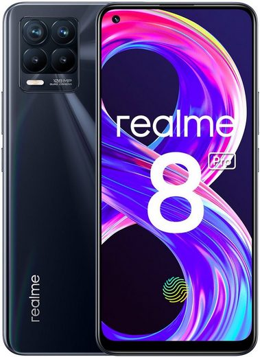 Realme 8 Pro Smartphone (16,3 cm/6,4 Zoll, 128 GB Speicherplatz, 108 MP Kamera)