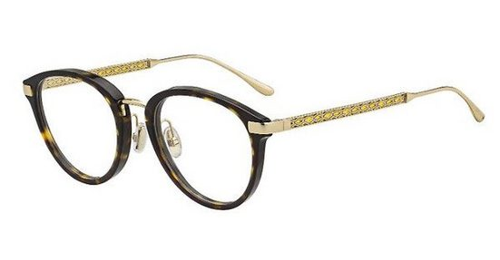 JIMMY CHOO Damen Brille »JC220/F«