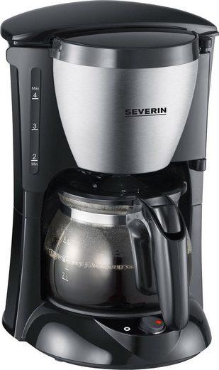 Severin Filterkaffeemaschine KA 4805, 0,46l Kaffeekanne, Papierfilter 1x2