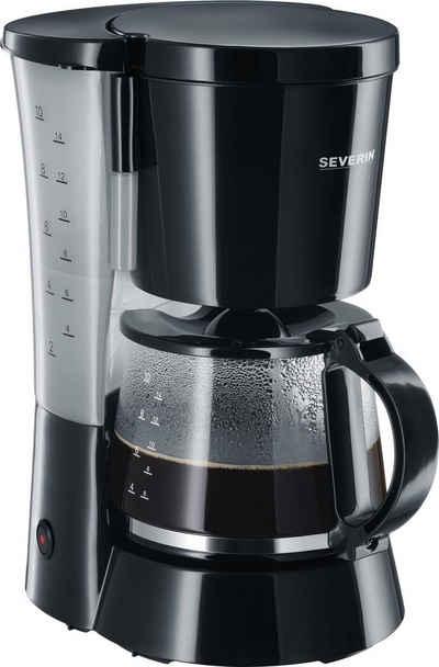 Severin Filterkaffeemaschine KA 4479, 1,4l Kaffeekanne, Papierfilter 1x4