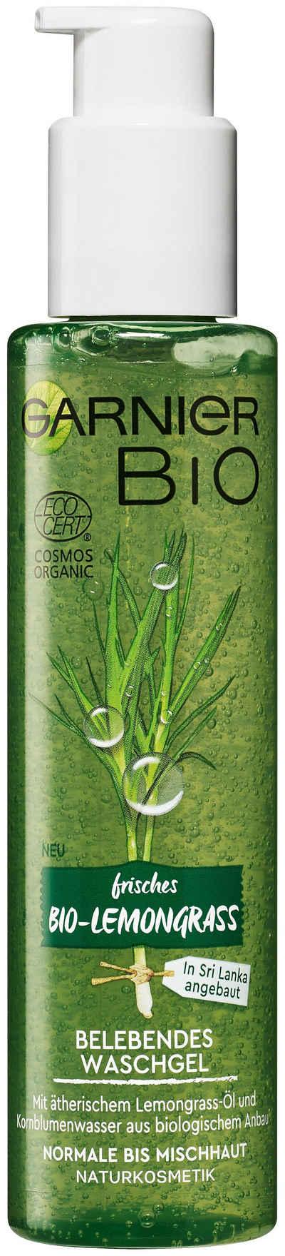 GARNIER Gesichtsreinigungsgel »Bio Lemongrass«