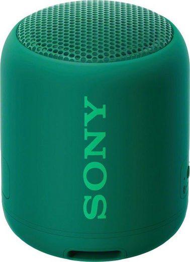 Sony SRS-XB12 Bluetooth-Lautsprecher (Bluetooth, NFC, Freisprechfunktion für Anrufe)