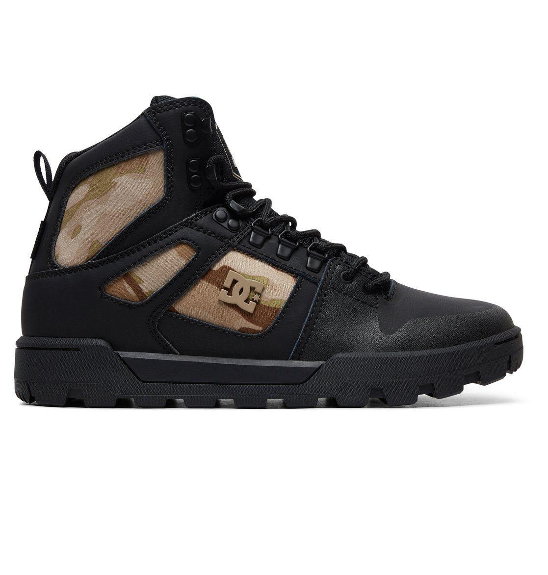 DC Shoes »Pure WNT« Winterboots, Obermaterial aus Leder oder Nubukleder online kaufen | OTTO