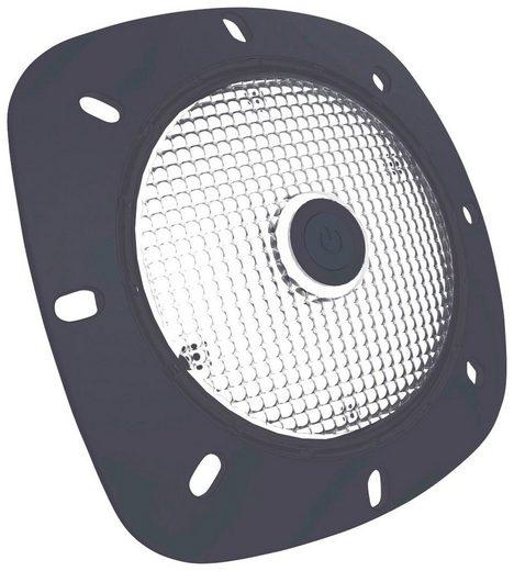 MYPOOL LED-Scheinwerfer grau, mit weißen LED