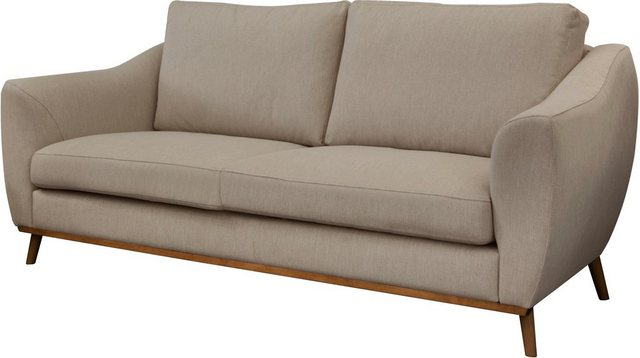 Sofas - DELAVITA 2 Sitzer »Sarah«, in skandinavischem Design mit Holzbeinen  - Onlineshop OTTO