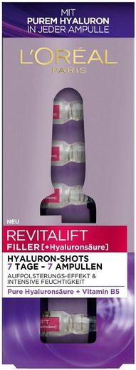 L'ORÉAL PARIS Gesichtsserum »Revitalift Filler Hyaluron-Shots«, 7-tlg.