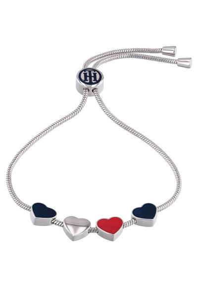 Tommy Hilfiger Edelstahlarmband »CASUAL CORE, 2780120«, mit Emaille
