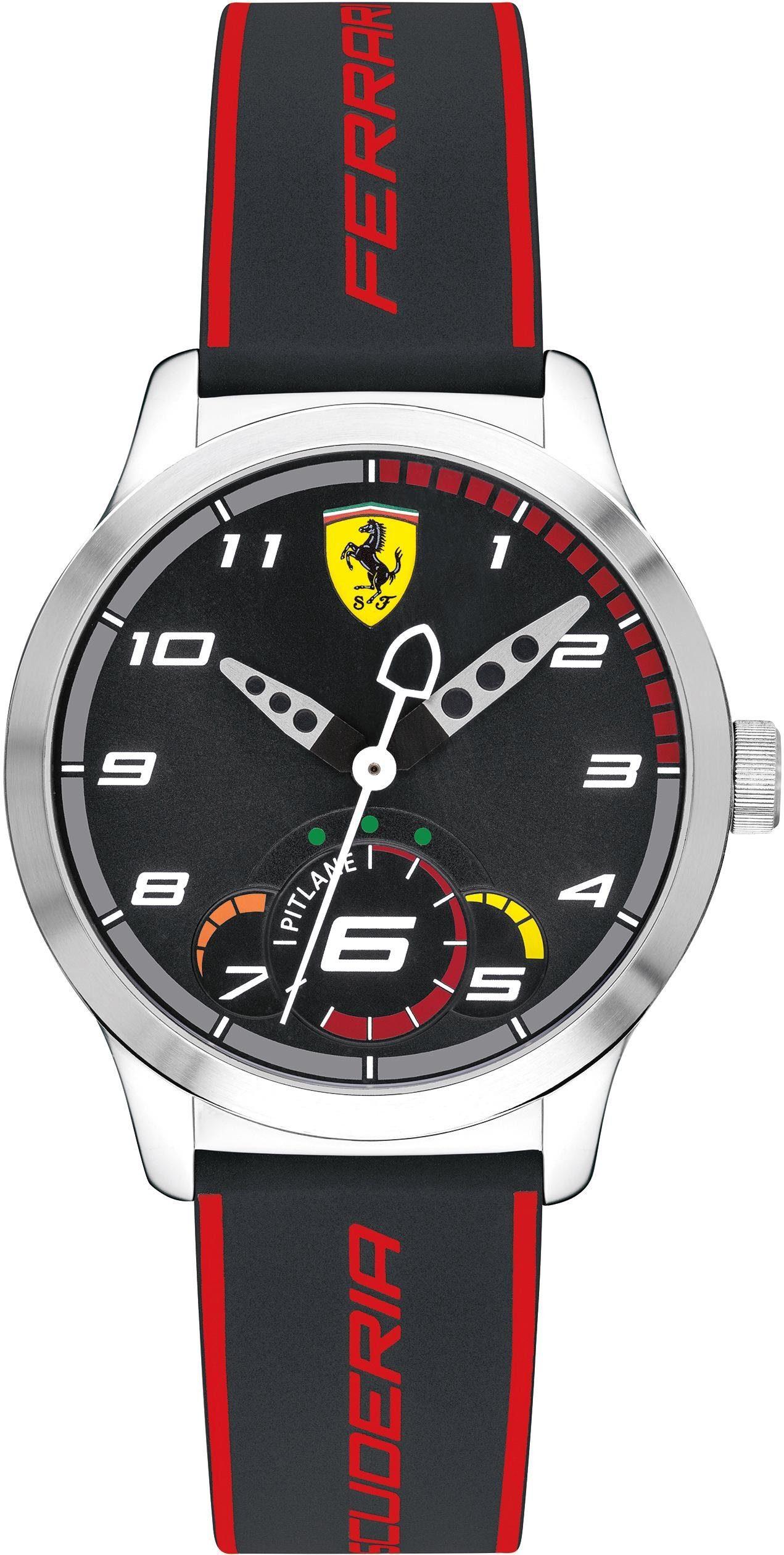 Scuderia Ferrari Quarzuhr »Pitlane, 860003«