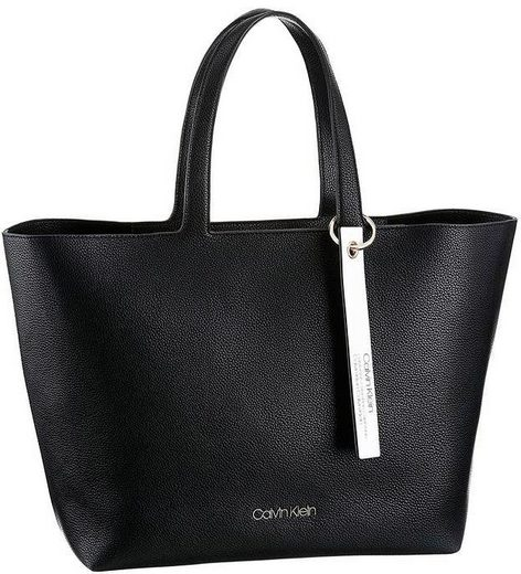 Klein Abnehmbarem Shopper Mit Logoanhänger Calvin wq6Y4w