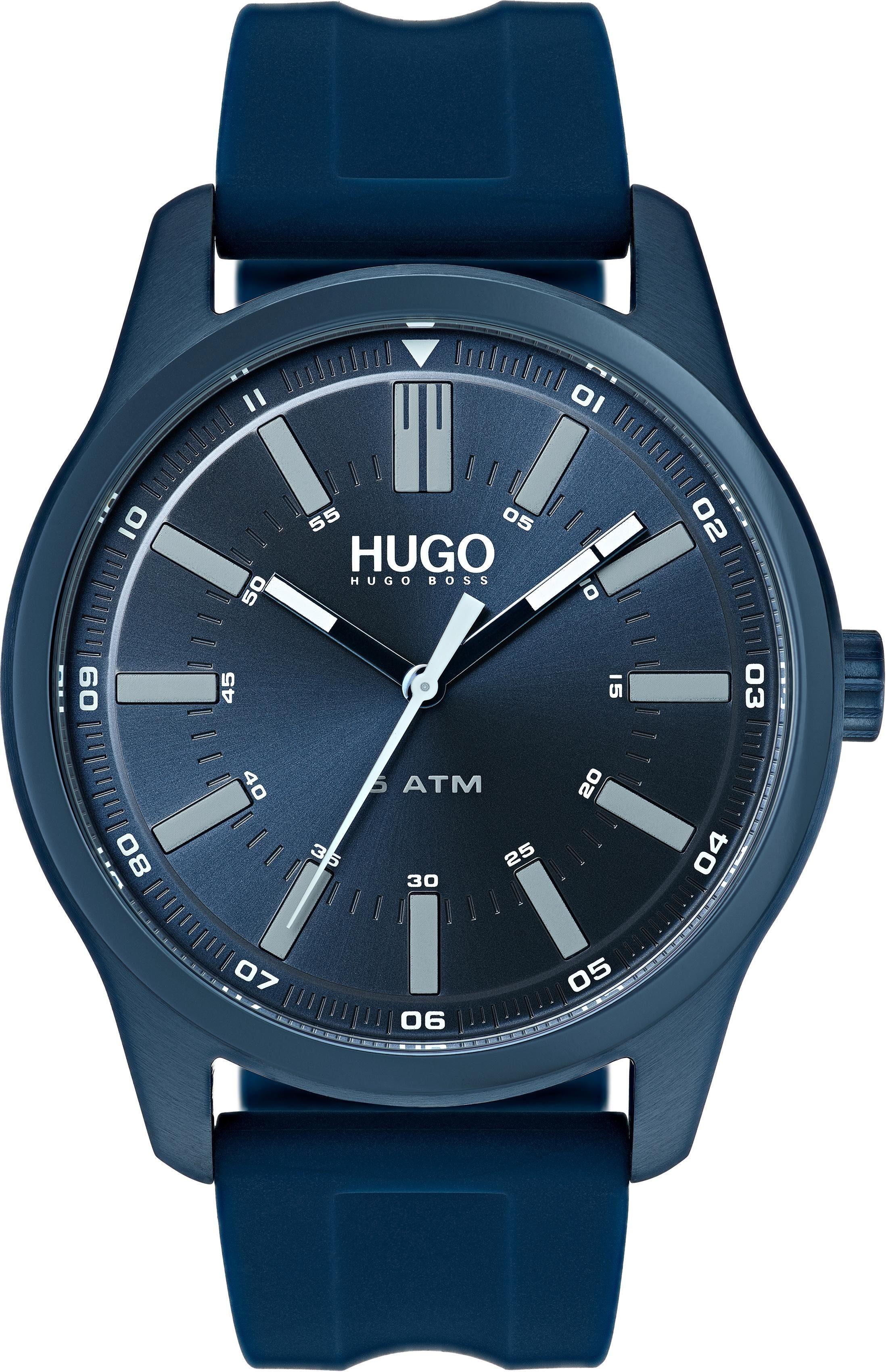 HUGO Quarzuhr »#RISE, 1530077«