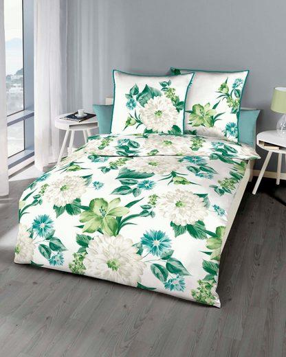 Bettwäsche »Mauritius«, Kaeppel, mit großen Blüten