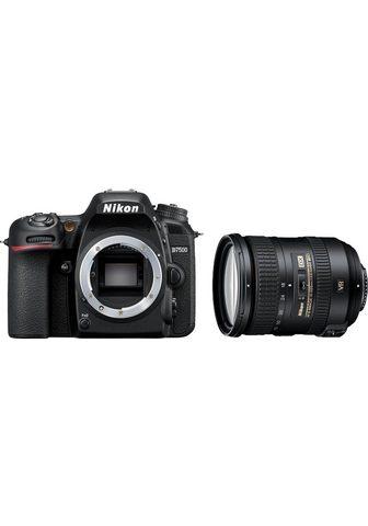 NIKON »D7500+AF-S DX 18-200 VR« Veidrodinis ...