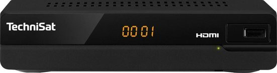 TechniSat »HD-S 221 HD-« Satellitenreceiver (LAN (Ethernet), mit HDMI, USB Mediaplayer)