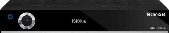 TechniSat »DIGIT ISIO S2 HD-Twin-« Satellitenreceiver (LAN (Ethernet), mit PVR Aufnahmefunktion über USB, HDMI, CI+, UPnP)