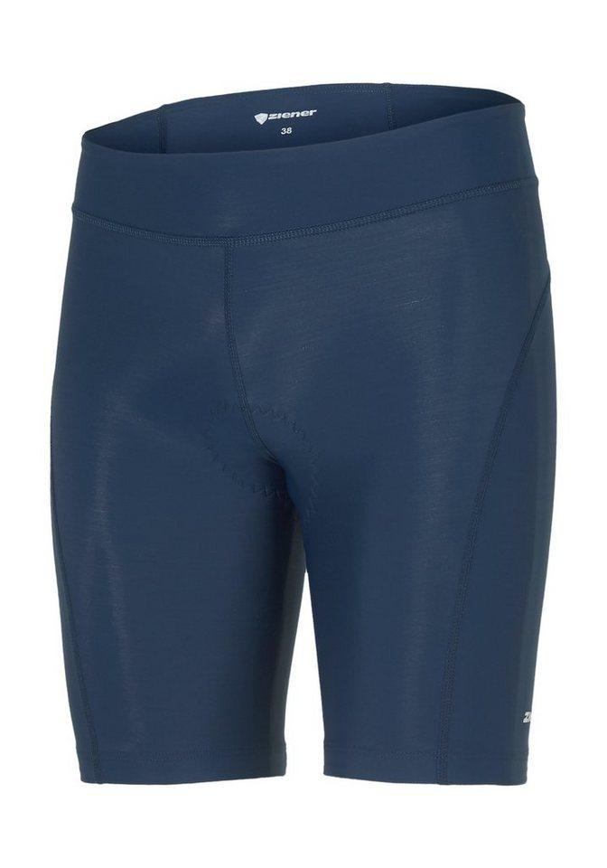Ziener Radhose »CELCIE X-FUNCTION« | Sportbekleidung > Sporthosen > Fahrradhosen | Blau | Ziener