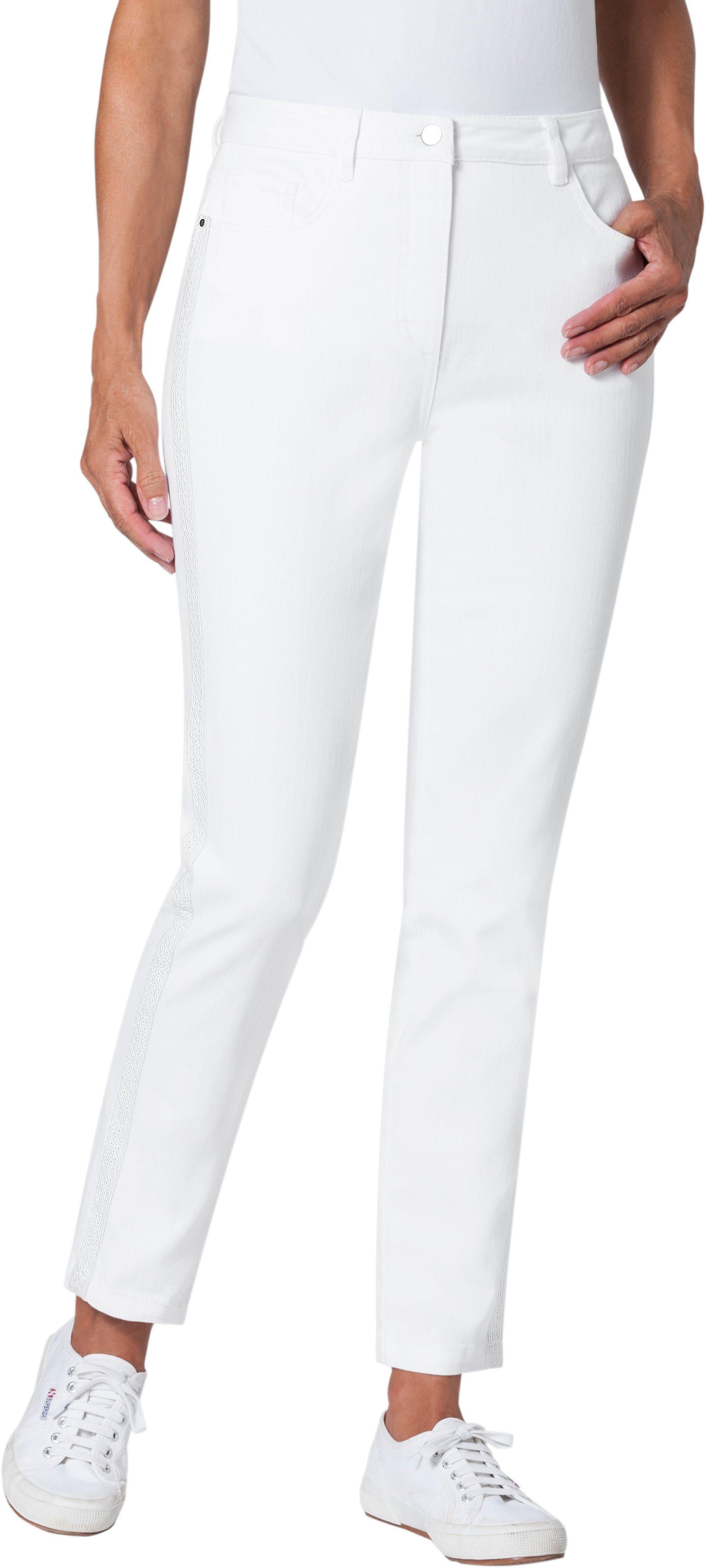 Ambria Jeans in in knöchelfreier Länge