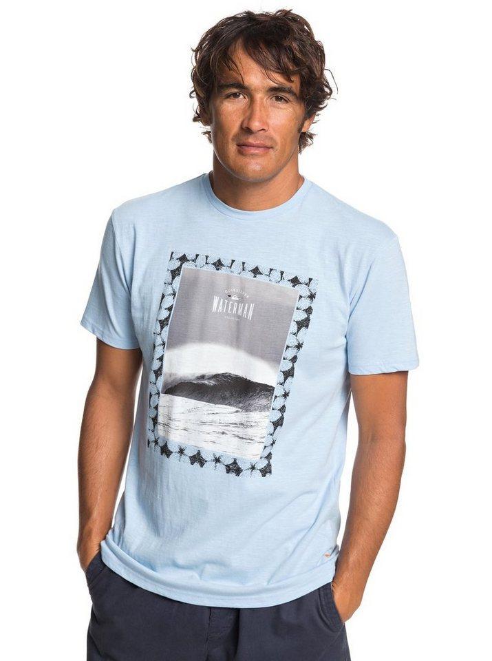 Quiksilver T-Shirt »Waterman Wrap It Up« | Bekleidung > Shirts > T-Shirts | Blau | Quiksilver