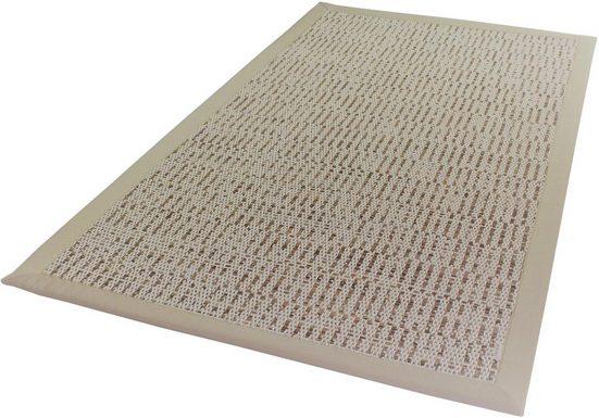 Teppich »Naturino Struktur«, Dekowe, rechteckig, Höhe 8 mm, Flachgewebe, Sisal-Optik, In- und Outdoor geeignet, Wunschmaß