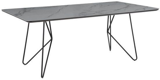 Villeroy & Boch Esstisch »MOSAÏQUE Amara«, mit Keramiktischplatte und Haarnadelfuß, Breite 190 cm