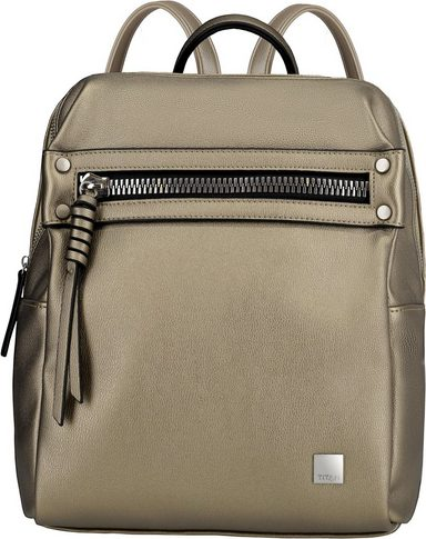 Titan® Rucksack Metallic Topmodel Zip Gold« »germany's Spotlight ® Next q1BZxqOwr