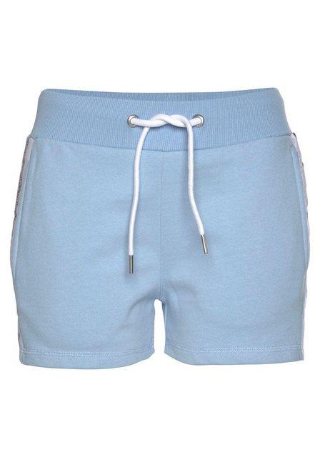 Hosen - Superdry Shorts »Alicia« aus Sweat › blau  - Onlineshop OTTO