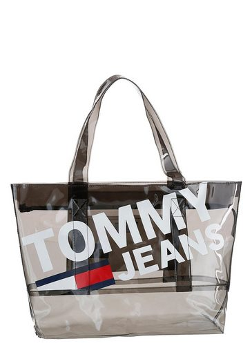 Look Im »tju Summer Tommy Jeans Transparentem Tran« Shopper Tote c41gP8F