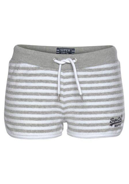 Hosen - Superdry Shorts aus Frottee mit Streifenmuster ›  - Onlineshop OTTO