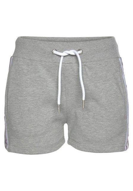 Hosen - Superdry Shorts »Alicia« aus Sweat › grau  - Onlineshop OTTO