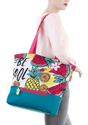 Melonen Mit Ananas Print Und Strandtasche Modischen Fabrizio® qUO4wf8n