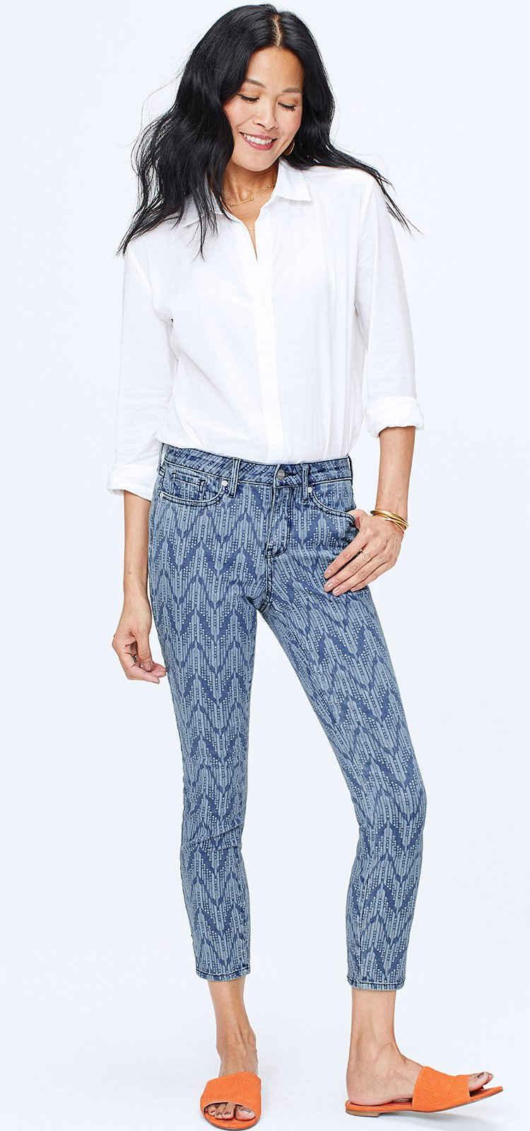 NYDJ Skinny-fit-Jeans »in Premium Denim« Skinny Ankle