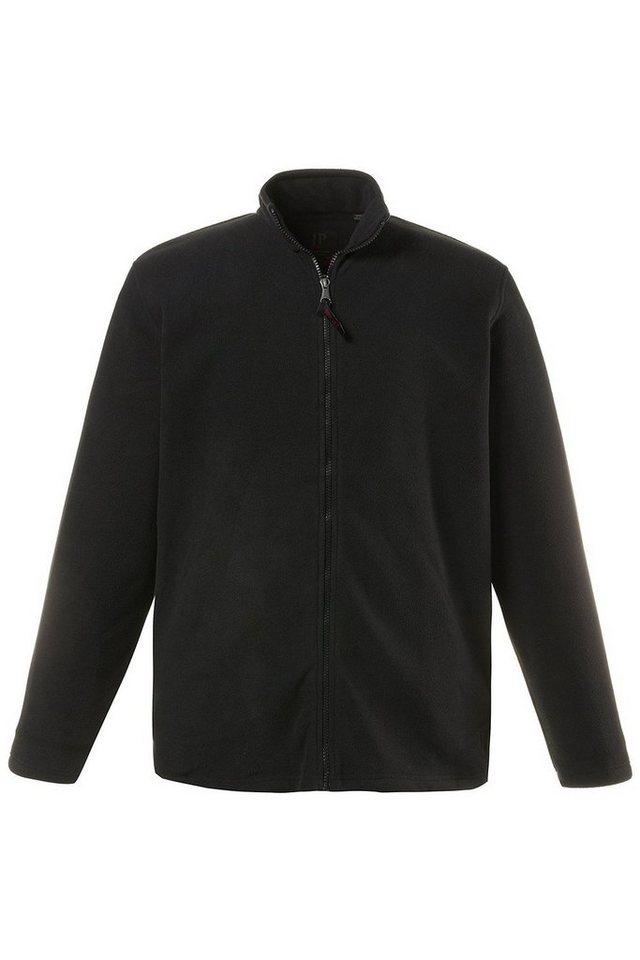 JP1880 Fleecejacke bis 7 XL, Fleece Jacke, Sweat-Jacke mit Stehkragen, Reißverschluss & 2 Taschen, Outdoor Kleidung | Bekleidung > Jacken > Fleecejacken | Schwarz | Fleece | JP1880