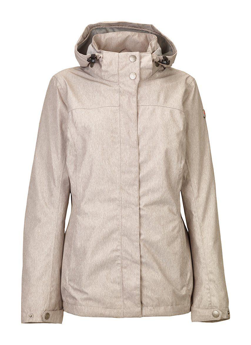 Killtec Damen Jacke Funktionsjacke packbare dünne Regenjacke verschweißte Nähte