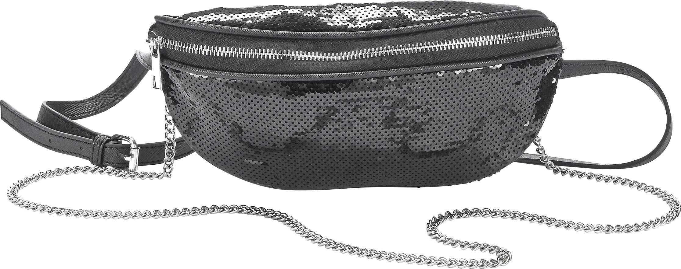 2 Fächer Bauchtasche Gürteltasche Hüfttasche Handy Bodybag Trendig