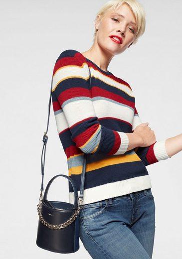 Pepe Jeans Streifenpullover »CLAUDIA« im Basic-Design