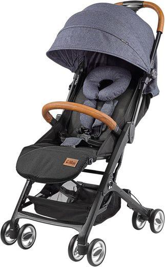 Gesslein Kinder-Buggy »Babies Smiloo Cuby, jeansblau-meliert«, mit Frontbügel