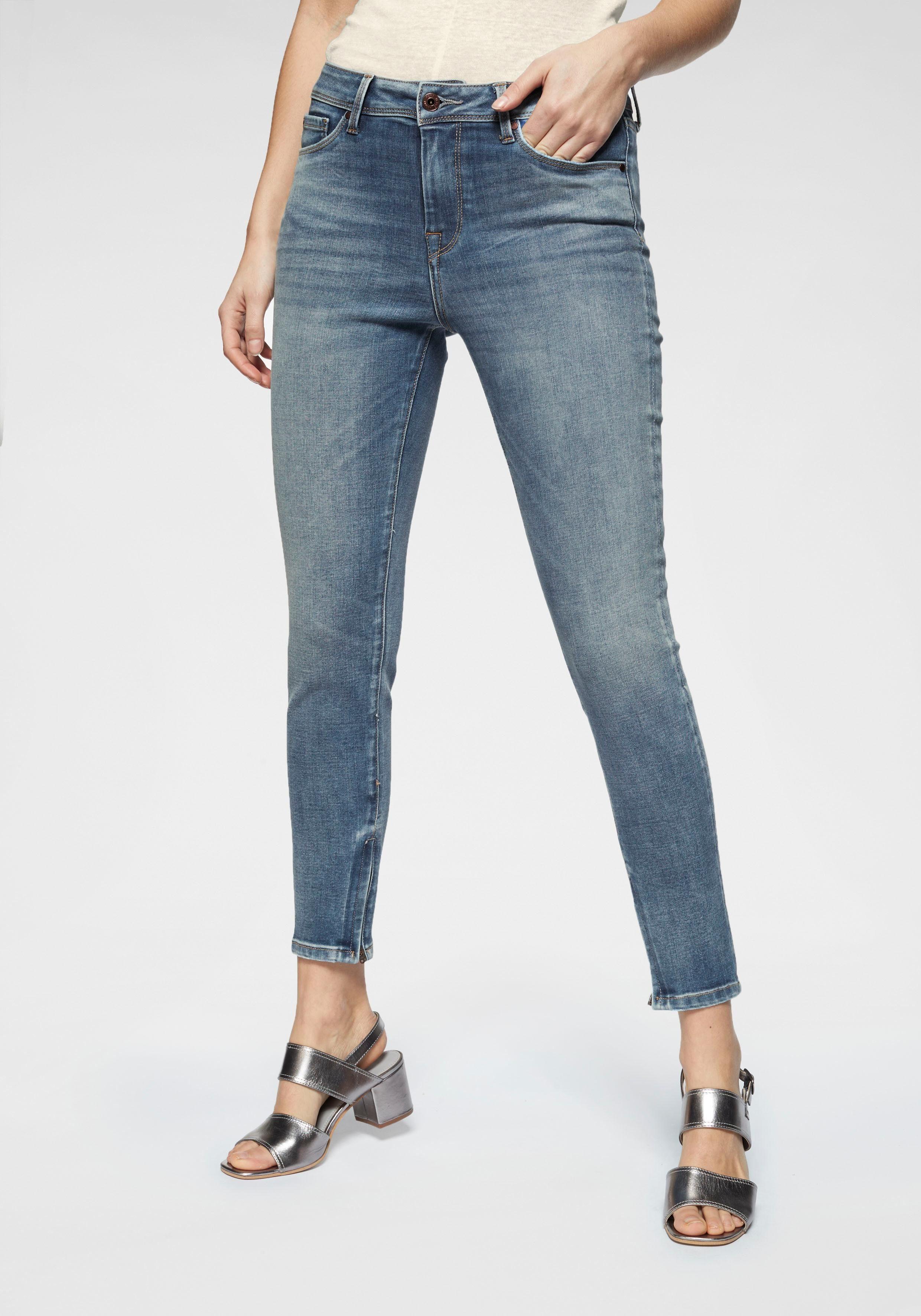 Pepe Jeans Skinny fit Jeans »CHER HIGH« im 5 Pocket Stil online kaufen | OTTO