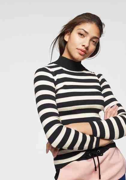Scotch & Soda Strickpullover mit auffäligem Turtleneck