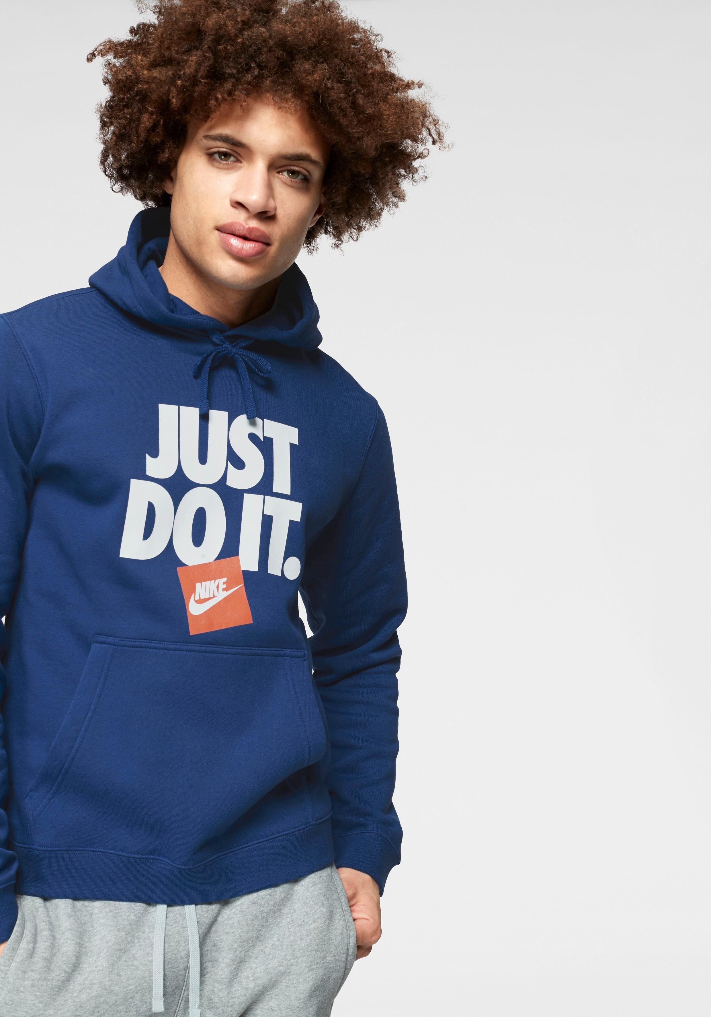 Nike Herren M NSW JDI Hoodie Po FLC Sweatshirt