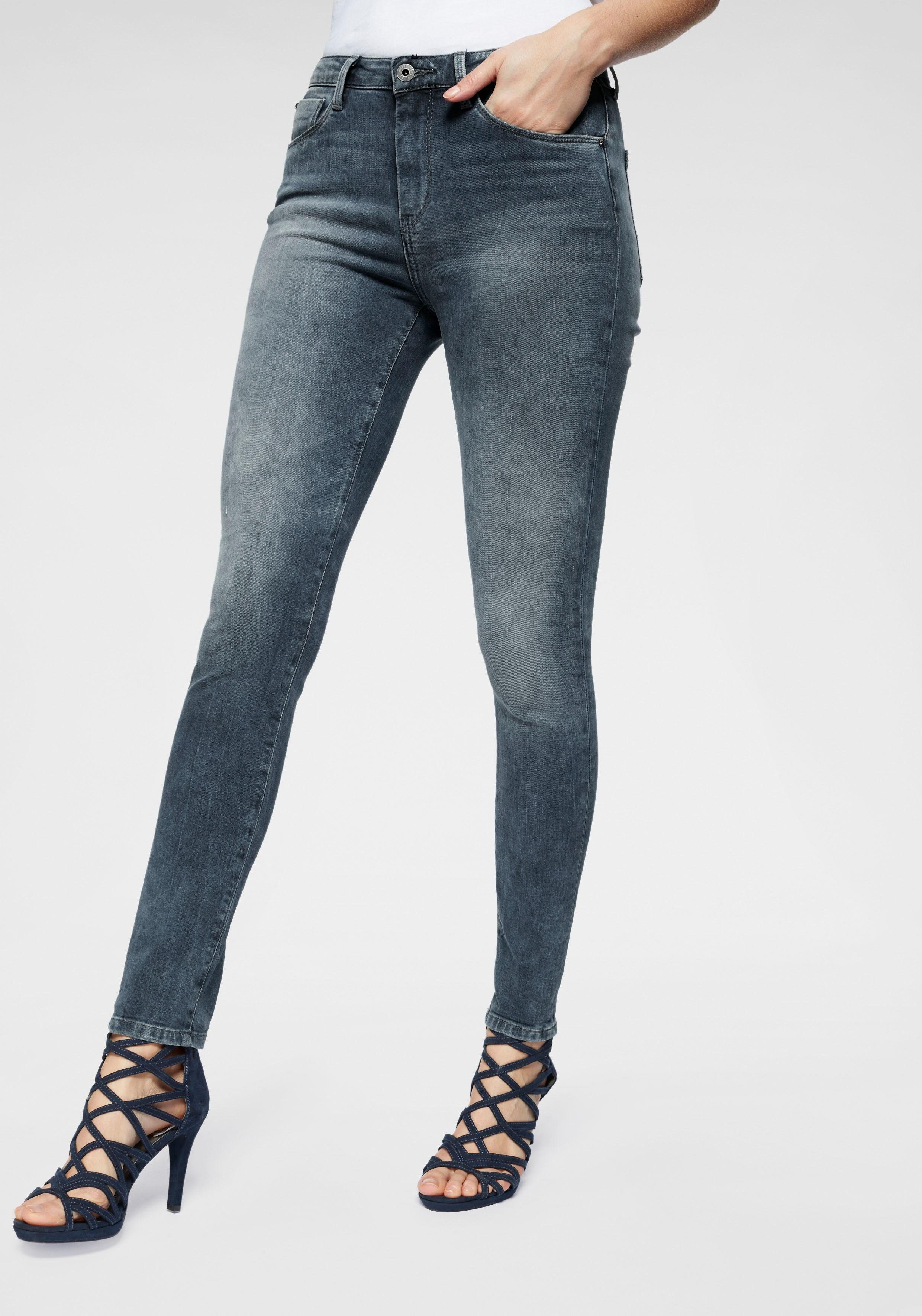 Pepe Jeans Skinny fit Jeans »REGENT« mit High Waist online kaufen | OTTO