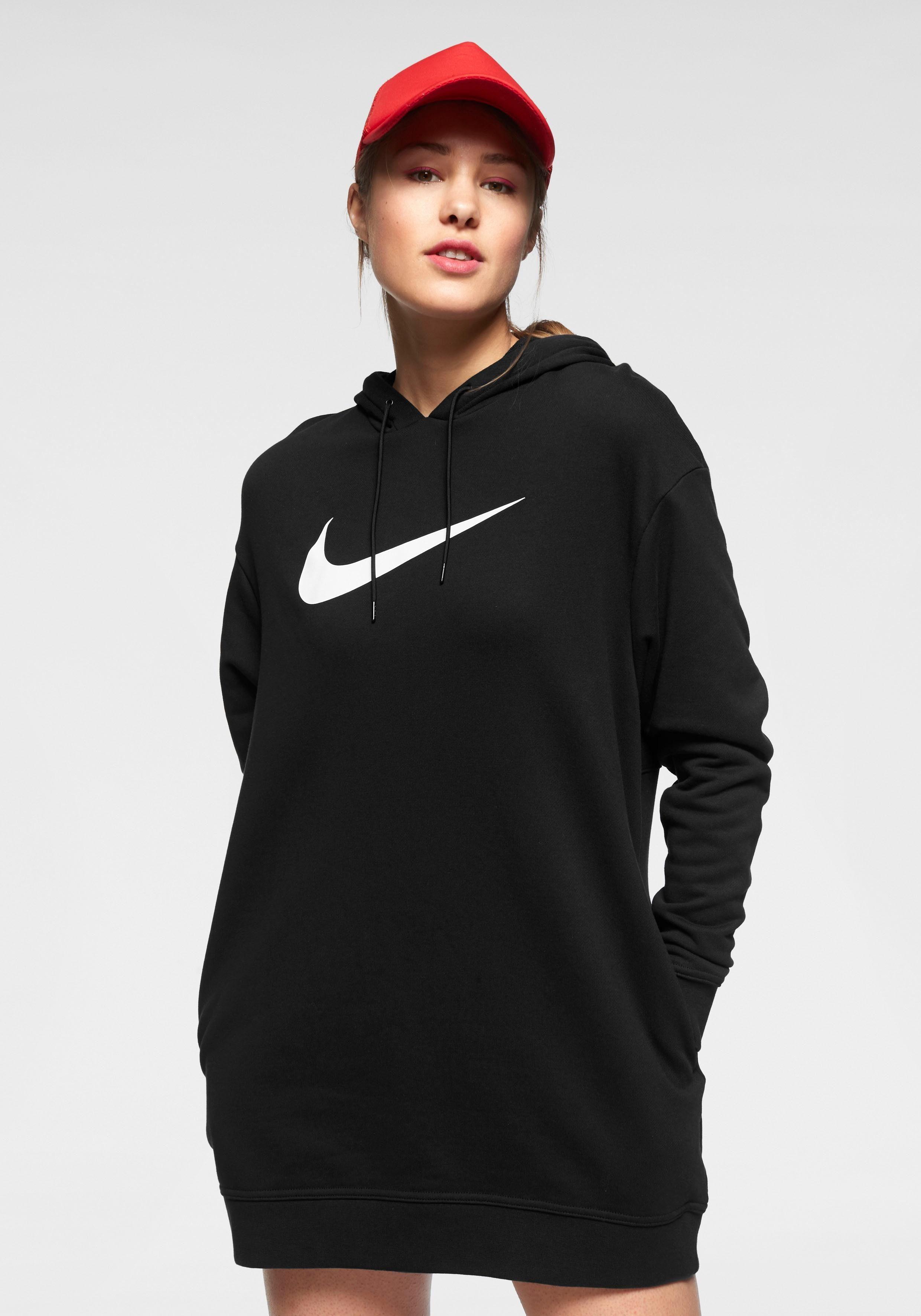 Nike Sportswear Maxikleid »W NSW SWSH HOODIE OS FT« online kaufen | OTTO