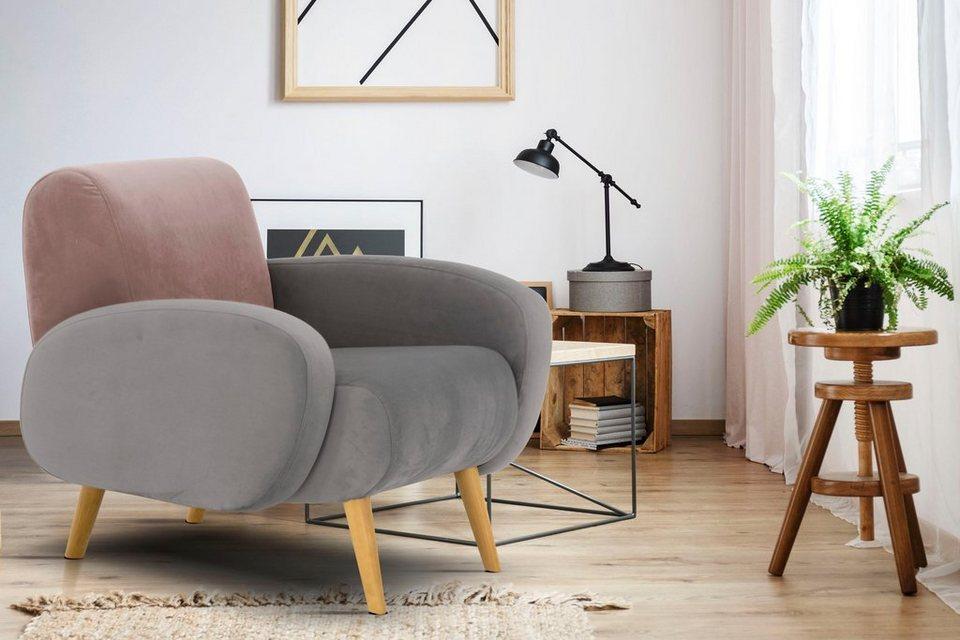 home affaire sessel tox in au ergew hnlicher stylischer. Black Bedroom Furniture Sets. Home Design Ideas