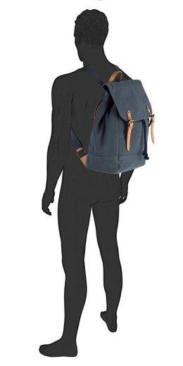 Cityrucksack Details »max« Tailor Tom Mit Farblich Abgesetzten ac5gWFqz7