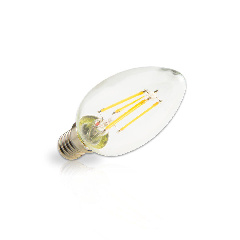 INNOVATE E14 LED-Kerze im praktischen 10er-Set