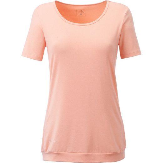 DEPROC Active Funktionsshirt »KITIMAT WOMEN« Funktionsshirt in Melangeoptik